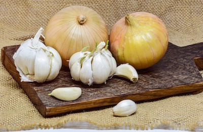 growing garlic and onion